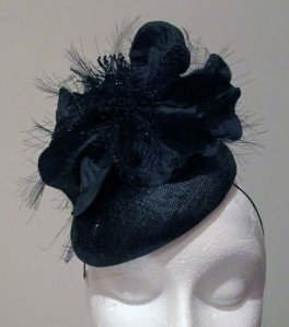 Iona Montgomery Millinery - Prufrock Collection 'Evening'