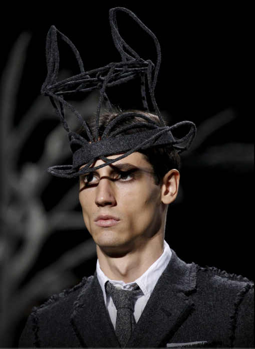 'Fox' top hat Thom Browne/ Stephen Jones Millinery Fall 2014